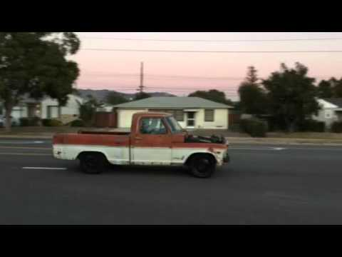1969 f250 short bed conversion 4 6 crown vic swap test. Black Bedroom Furniture Sets. Home Design Ideas