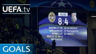Dortmund 8-4 Legia: UEFA Champions League classic