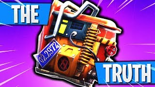 """The TRUTH About the """"RUST BUCKET Back Bling"""" in Fortnite Battle Royale! How to Get RUST BUCKET FREE!"""