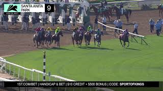 Jimmy Blue Jeans wins the Snow Chief Stakes on Saturday June 19th, 2021 at Santa Anita Park.