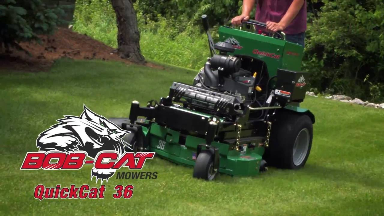 NEW: BOB-CAT QUICKCAT COMMERCIAL MOWER - Langefels Equipment