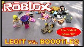 ROBLOX LEGIT vs. BOOTLEG Comparison video   The Bride & Gamer101
