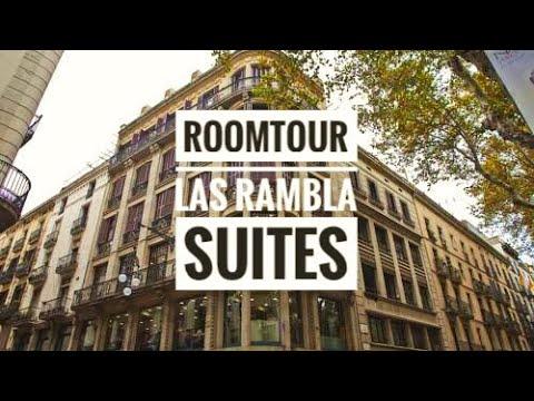 BARCELONA 2017 | Roomtour | LA RAMBLA SUITE | GERMAN