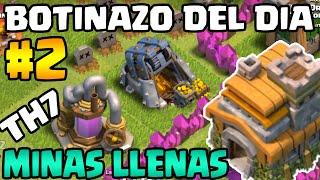 Aldea Abandonada con Minas Llenas | Botinazo del Dia #2 | Clash of Clans