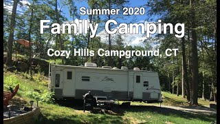 Family Camping at C๐zy Hills Campground, Connecticut | 뉴욕 근교 캠핑
