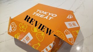 Japanese Snack Taste Test - Tokyo Treat Unboxing and Sample Video