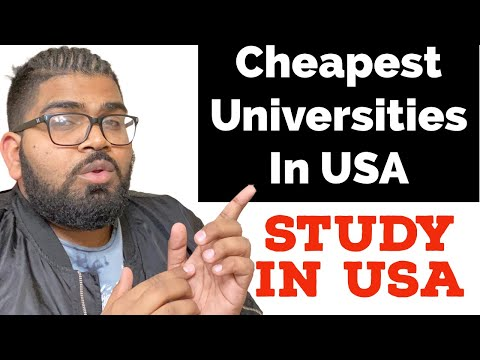 Cheap Universities in The USA || Affordable Universities in USA For Students 2021