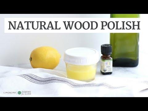 Natural Lemon Wood Polish | DIY Cleaner | Limoneira