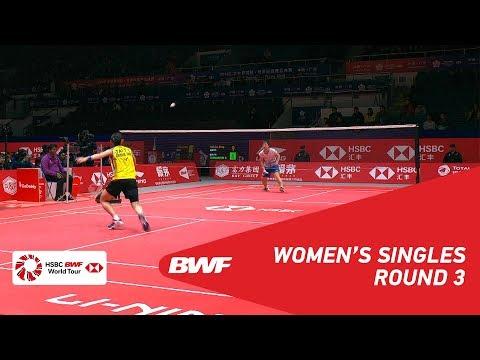 R3 | WS | TAI Tzu Ying (TPE) vs Akane YAMAGUCHI (JPN) | BWF 2018