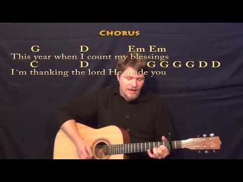 Thanksgiving Prayer (Johnny Cash) Strum Guitar Cover Lesson with Chords/Lyrics