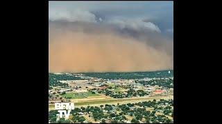 Cette impressionnante tempête de poussière a totalement englouti une ville du Texas