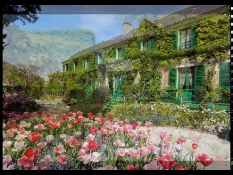 Франция. Живерни - провинция Парижа. Сад Моне. Giverni. Claude Monet.
