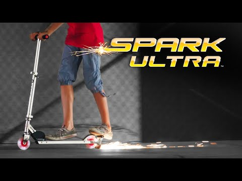 Razor Spark Ultra Kick Scooter Ride Video