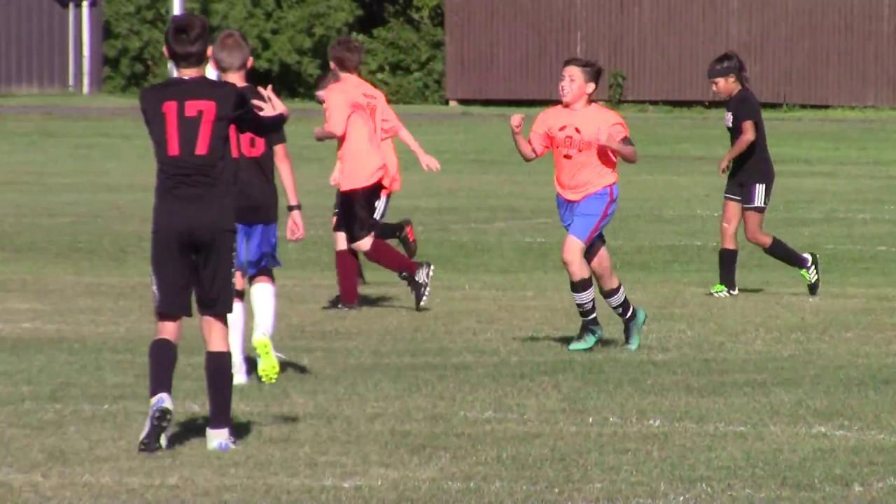 Champlain-Rouses Point Bantam Soccer  9-22-18