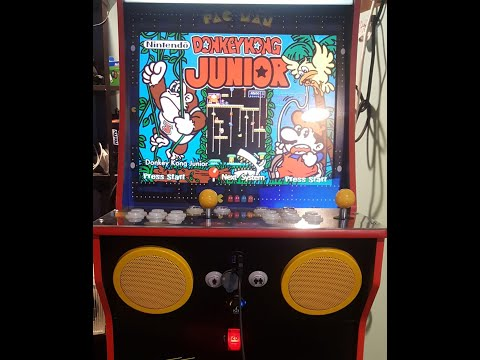 Arcade1Up Pacman to Hyperspin MAME Part 5 - Control Panel Setup from Phreakwar PC Custom Builds