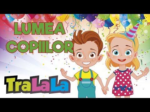 Lumea copiilor - Colaj muzică pentru copii | TraLaLa