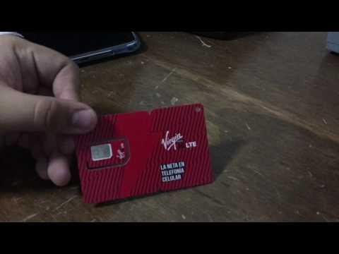 Unboxing Sim Virgin Mobile MX Amazon 99
