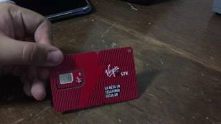 Unboxing Sim Virgin Mobile MX Amazon 99