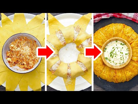 MOUTH-WATERING SNACK IDEAS    Last Minute Snack Recipes For Party!