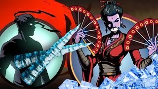 вДОВА ЗАМЕРЗЛА И ОТДАЛА СВОИ ВЕЕРА игра мультик про бой с тенью как получить оружие боссов