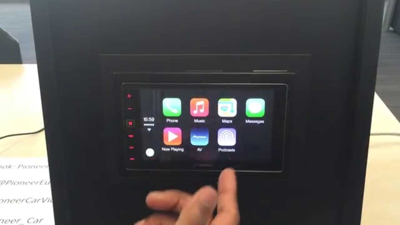how to connection apple carplay with pioneer sph da120. Black Bedroom Furniture Sets. Home Design Ideas