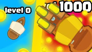 IS THIS THE MOST EXPENSIVE  SHIP EVOLUTION UPGRADE? (1000+ HIGH LEVEL) l Piratez.io New .IO Games