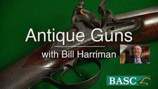 Antique Guns - HW Mortimer flintlock shotgun c 1823