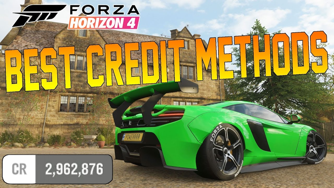 Forza Horizon 4 - HOW TO GET CREDITS FAST! Credit & Wheelspin Methods