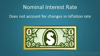 Nominal vs. Real Interest