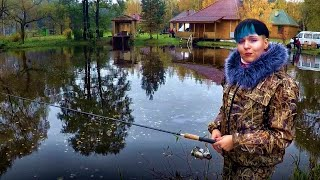 В поисках хищника: платная рыбалка осенью в Беларуси и база отдыха Щарка #27