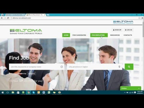 HOW TO ENROLL WITH ELTOMA RECRUITMENT