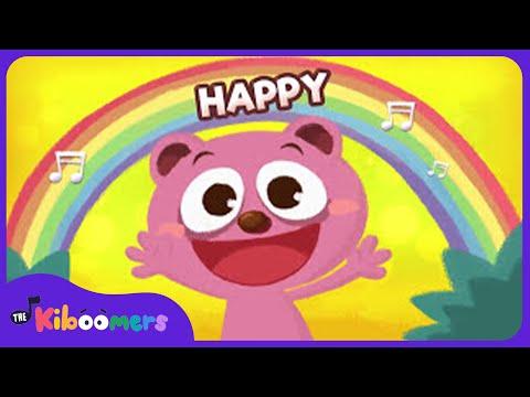 Emotions Song for Kids | Emotions Hokey Pokey | Preschool Songs | The Kiboomers