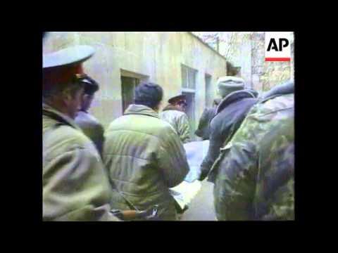 Azerbaijan - Government Seizes Mutinous Police HQ