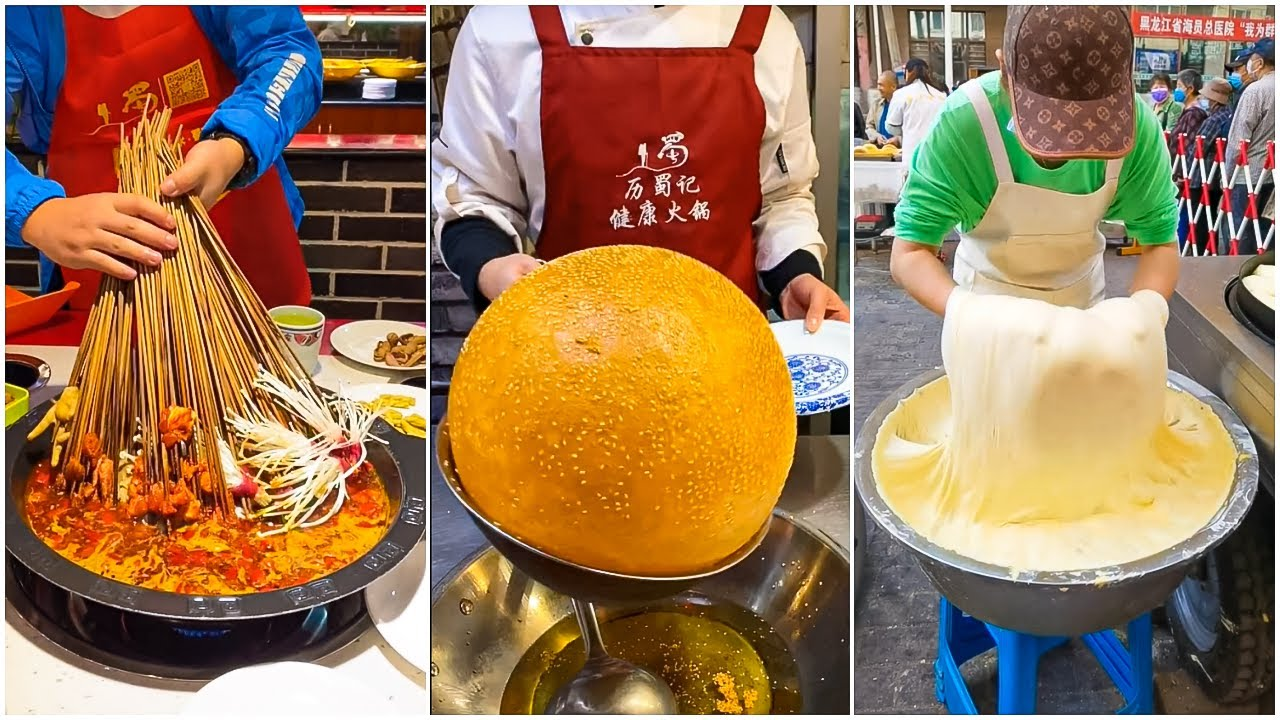 Oddly Satisfying Ninja Cooking Skills P(41) 😍😍 Tik Tok China 😍 Great Asian Ninja Skills