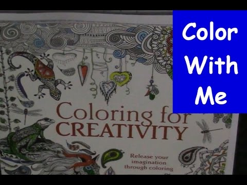 color with me coloring for creativity episode 9