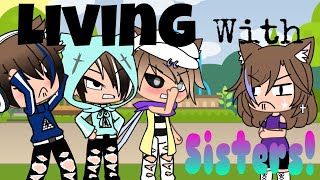 Living with sisters (READ DESCRIPTION!) gacha life (GLV) thumbnail