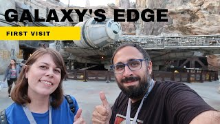 Our First Visit to GALAXYS EDGE