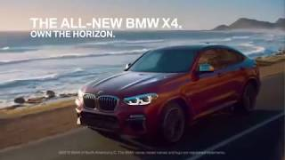 Meet the All-New BMW X4