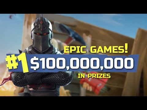 Epic Games 100,000,000 Prize Pool For FORTNITE ESPORTS!