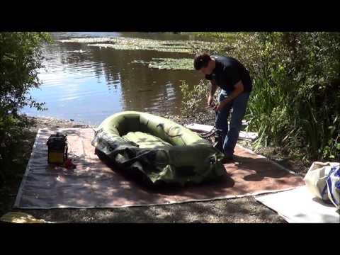 Sevylor fish hunter hf 280 hf 360 wood plywood floor in for Fish hunter raft