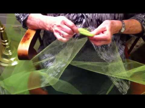 Scrubbie strips how to cut nylon netting for scrubbies