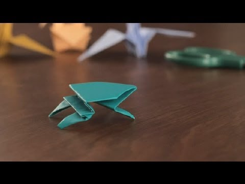 How to Make an Origami Frog : Simple & Fun Origami - YouTube - photo#14