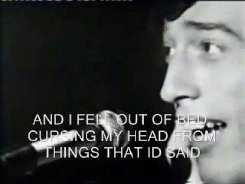 Bee Gees - I Started A  Joke (Lyrics)