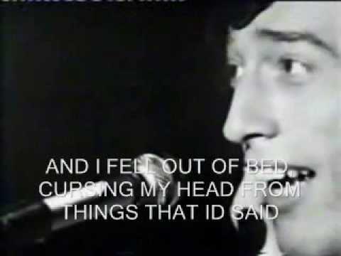 Bee Gees - I Started A  Joke (Lyrics)