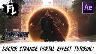 Doctor Strange Portal After Effects Tutorial! | Film Learnin