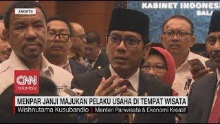 Janji Menpar Wishnutama untuk Memajukan Pariwisata Indonesia