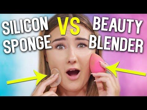 BEAUTY BLENDER VS SILICON SPONGE l Was ist besser? l Beautygram mit Sara Isabel