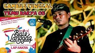 Gambus Tunggal Temu Karya 05 Di Festival Bale Langgaq  Sakra