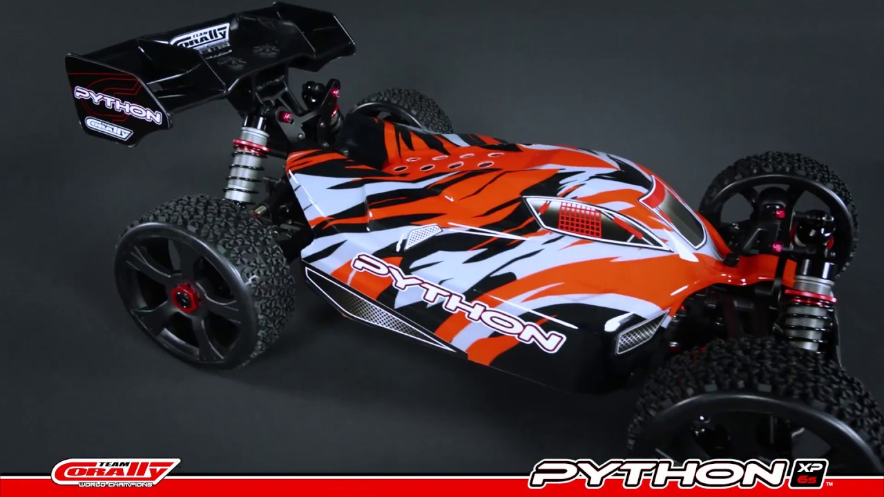 Team Corally - PYTHON XP 6S - 1/8 Racing Buggy 4WD - Ready To Run ...