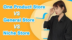 One product store & General store & Niche store: Which is better?